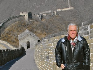 PAUL HODGE AROUND THE WORLD - GREAT WALL OF CHINA