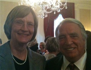PAUL HODGE AROUND THE WORLD - HARVARD PRESIDENT DREW FAUST